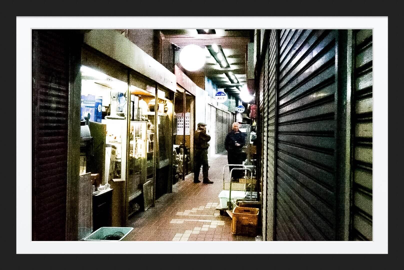 a7IIで元町高架下商店街を撮影