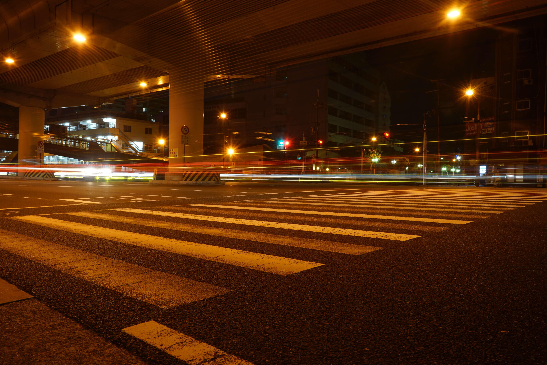 a7IIで国道を長時間露光で撮影