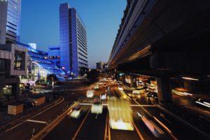 a7IIにSEL1635Zで撮った国道の写真