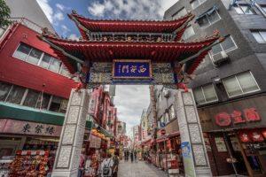a7IIにSEL1635Zで撮った元町中華街の写真