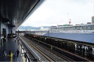 SONY a7II ホワイトバランス 太陽光の設定で京都駅を撮影