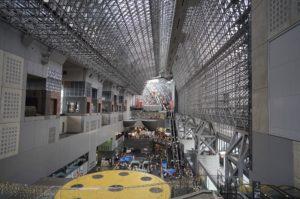クリエイティブスタイル スタンダードで撮影した京都駅の写真