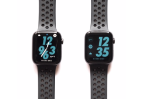 AppleWatch Series4(GPSモデル)で年月日が確認できる