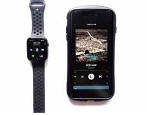 AppleWatch Series4(GPSモデル)で音楽再生・早送りができる画像