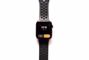 AppleWatch Series4(GPSモデル)の振動でアラーム画像