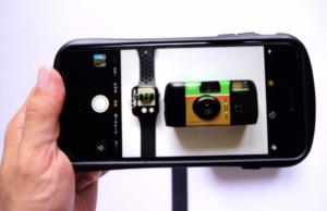 AppleWatch Series4(GPSモデル)でiPhoneの遠隔シャッタがわりになる画像