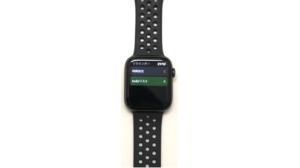 AppleWatch Series4(GPSモデル)でリマインダーを確認している画像