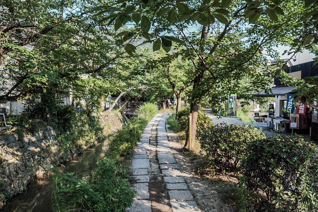 富士フィルム(FUJIFILM)のXT-30で撮影した哲学の道の写真