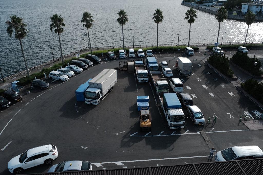 富士フィルム(FUJIFILM)のXT-30で撮影した佐世保の港の写真