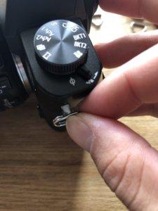 PeakDesign ピークデザイン 付属のリングの付け方。