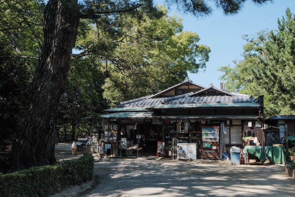 香川県高松市の栗林公園の花園亭の写真