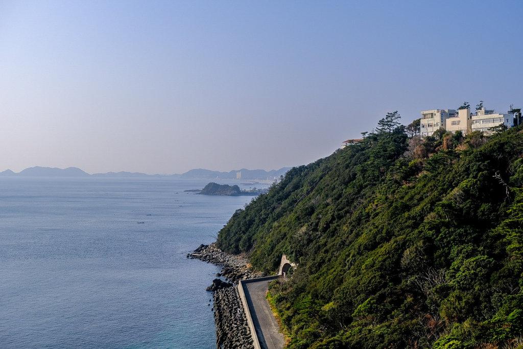 徳島の千畳敷展望台に行く途中の場所で撮影した写真