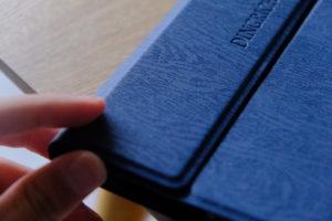 初代iPad miniとDINGRICH 新型iPad mini 5キーボードケースのカバーの画像