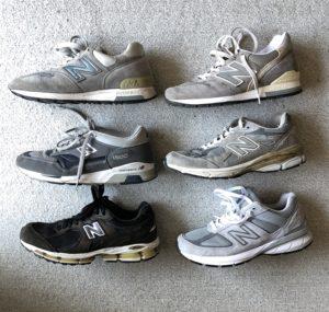 今まで集めたニューバランスの靴たち