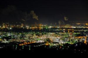 FUJIFILMのX-T30で撮影した工場夜景
